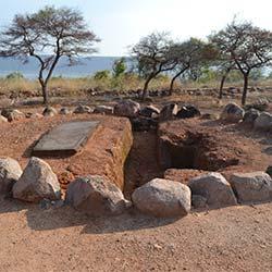Nagarjunakonda Caves in Nagarjunakonda