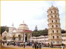 Naguesh Temple in Goa City