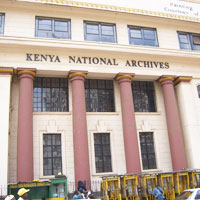 National Archives Museum in Nairobi