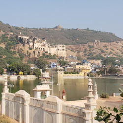 Lake Nawal Sagar in Bundi