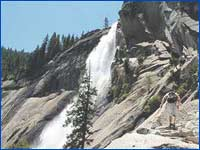 Nevada Fall(Mariposa) in California