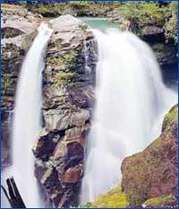 Nooksack Falls (Marblemount) in Washington