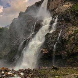 Nuranang Waterfall in Tawang