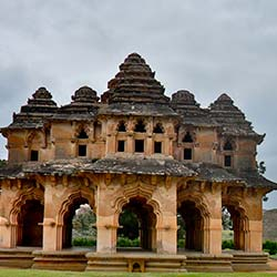 Old Palace in Hampi