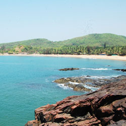 Om Beach in Gokarna