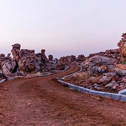 Oravakallu Rock Garden in Kurnool