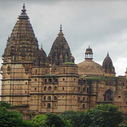 Orchha Temple in Orchha