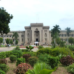 Osmania University in Hyderabad