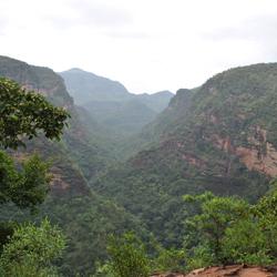 Pachmarhi Hills in Pachmarhi