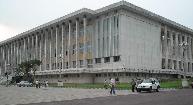 Palais Du Peuple in Kinshasa