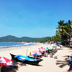 Palolem Beach in Goa City