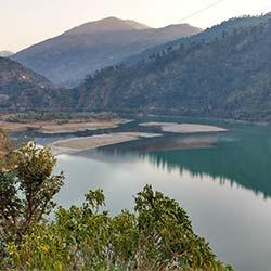 Pandoh Dam in Mandi