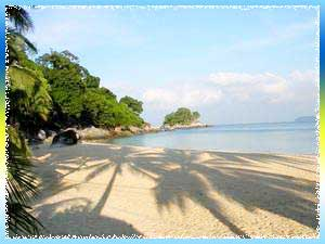Pansea Beach in Phuket