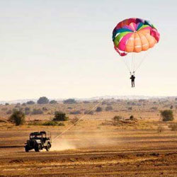 Paragliding in Jaipur in