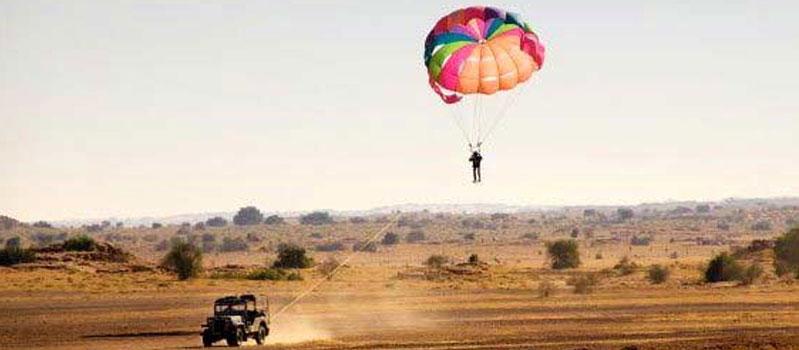 Paragliding in Jaipur