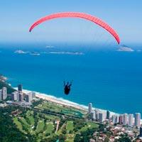Paragliding in Rio De Janeiro in Rio De Janeiro