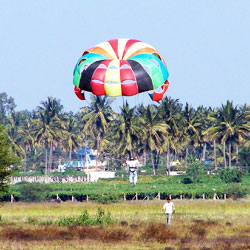 Parasailing in Bangalore in