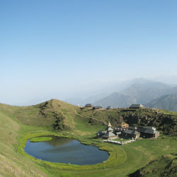 Parashar Lake in Mandi
