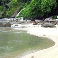 Pasir Bogak Beach in Perak