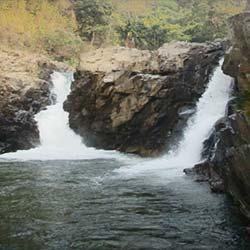 Pelga Falls in Tura