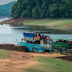 Periyar Lake in Thekkady