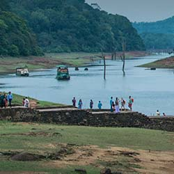Periyar Tiger Trail in Thekkady