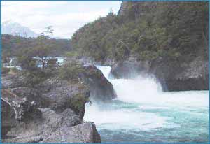 Petrohue Waterfalls in