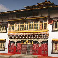 Phensang Monastery in Gangtok