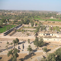 Phool Bagh in Orchha