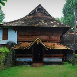 Poonjar Palace in Kottayam