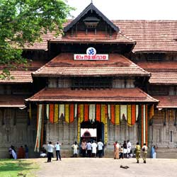 Poonkunnam Shiva Temple in Thrissur