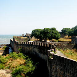 Portuguese Fort in Daman & Diu