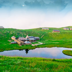 Prashar Lake in Mandi