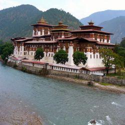 Punakha Dzong in Punakha