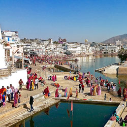 Pushkar (11 Kms from Ajmer) : in Ajmer