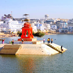 Pushkar Lake in Pushkar