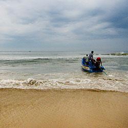 Rabindranath Tagore Beach in Karwar
