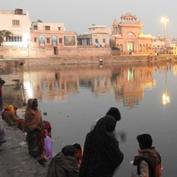 Radha Kund in Mathura