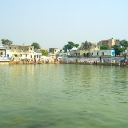 Radha Kund Lake in Mathura