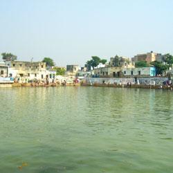 Radha Kund Lake in Mathura