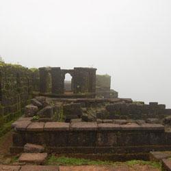 Raigad Fort in Raigad