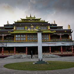 Ralang Monastery in Ravangla
