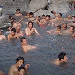 Ralong Hot Springs in Ravangla