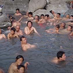 Ralong Hot Springs in Ravangla