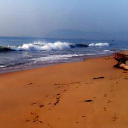 Ramakrishna Beach in Visakhapatnam