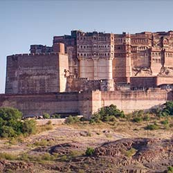 Rao Jodha Desert Rock Park in Jodhpur