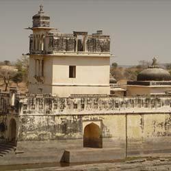 Ratan Singh Palace in Chittorgarh