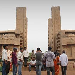 Raya Gopuram in Mahabalipuram
