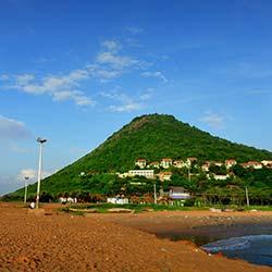 Rishikonda Beach in Visakhapatnam