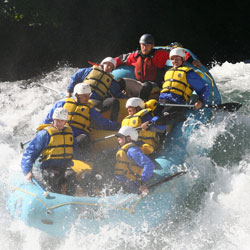 River Rafting in Kashmir Valleys in Kashmir